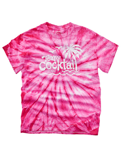 Team Cocktail Island Logo Unisex Tie-Dye Tee