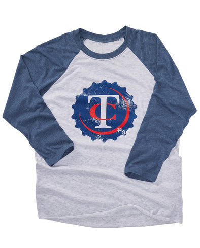 (Twins) TC Bottle Cap Raglan Tee