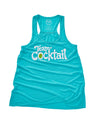 Team Cocktail Logo Ladies Tank