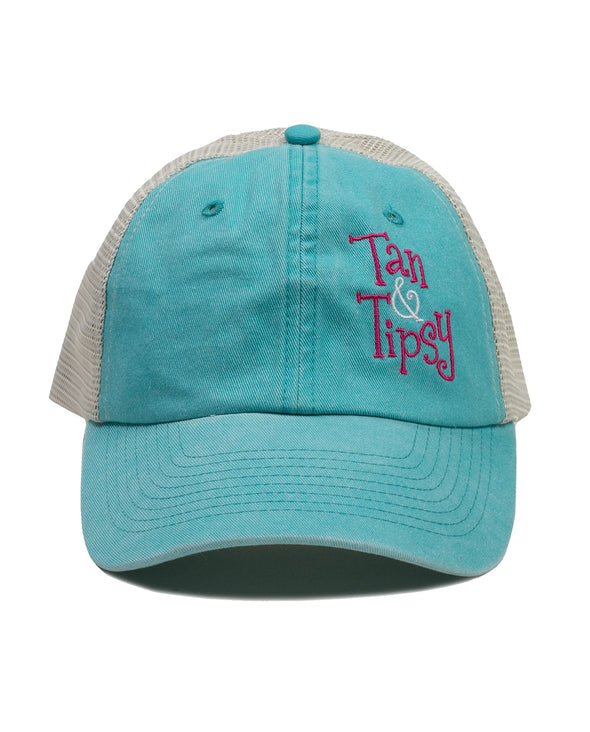 Tan & Tipsy Trucker Hat