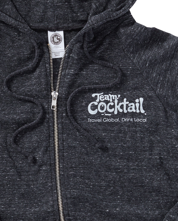 Travel Global, Drink Local Lightweight Hoodie
