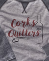 Corks Are For Quitters Scoopneck Fleece