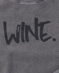 Wine. Sponge Fleece Sweatshirt