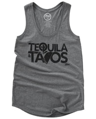 Tequila & Tacos Ladies Tank