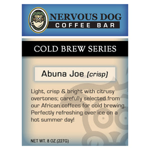 Abuna Joe (crisp) Cold Brew Coffee
