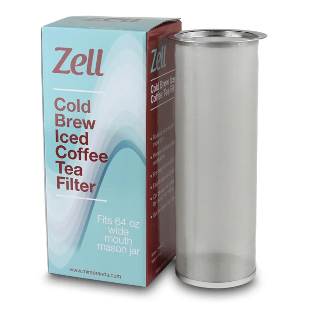 Cold Brew Coffee/ Ice Tea Filter for 64oz Mason Jars