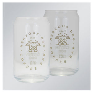 Nervous Dog Beer Can Glass Set