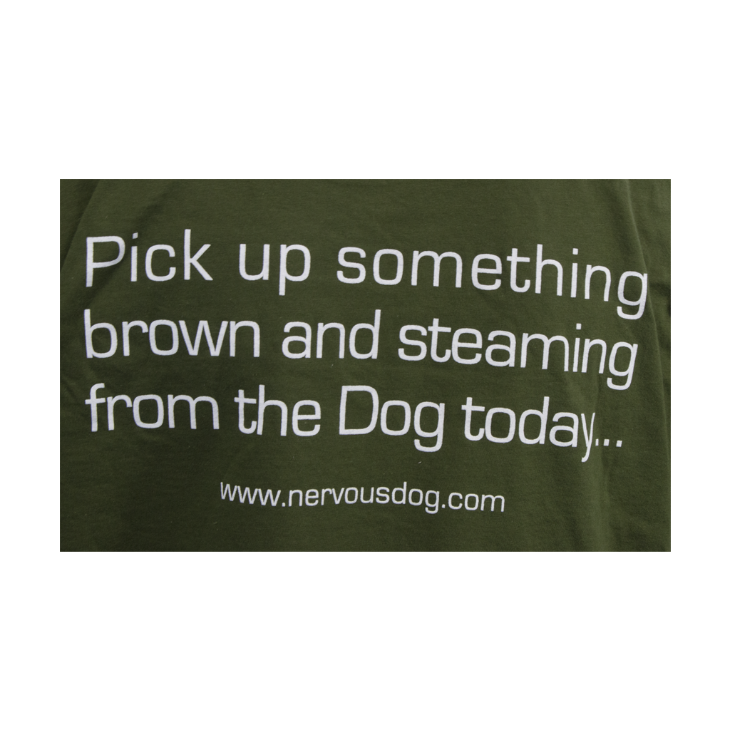 Pick Up Something Brown & Steaming T-Shirt