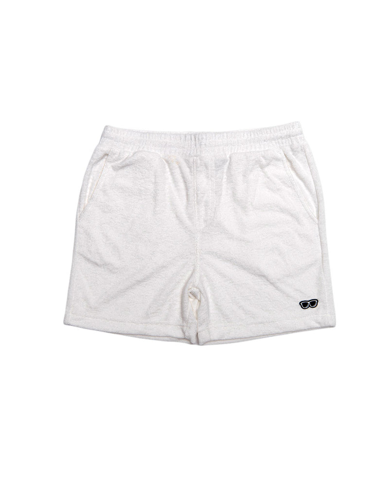 TERRY SHORT WHITE (TSB001)