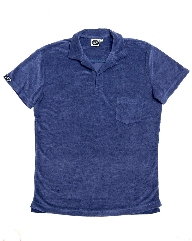 TERRY POLO NAVY (TTB002)