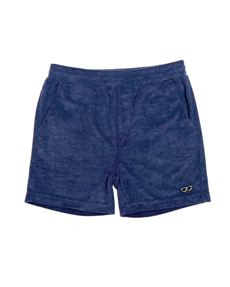 TERRY SHORT NAVY (TSB002)