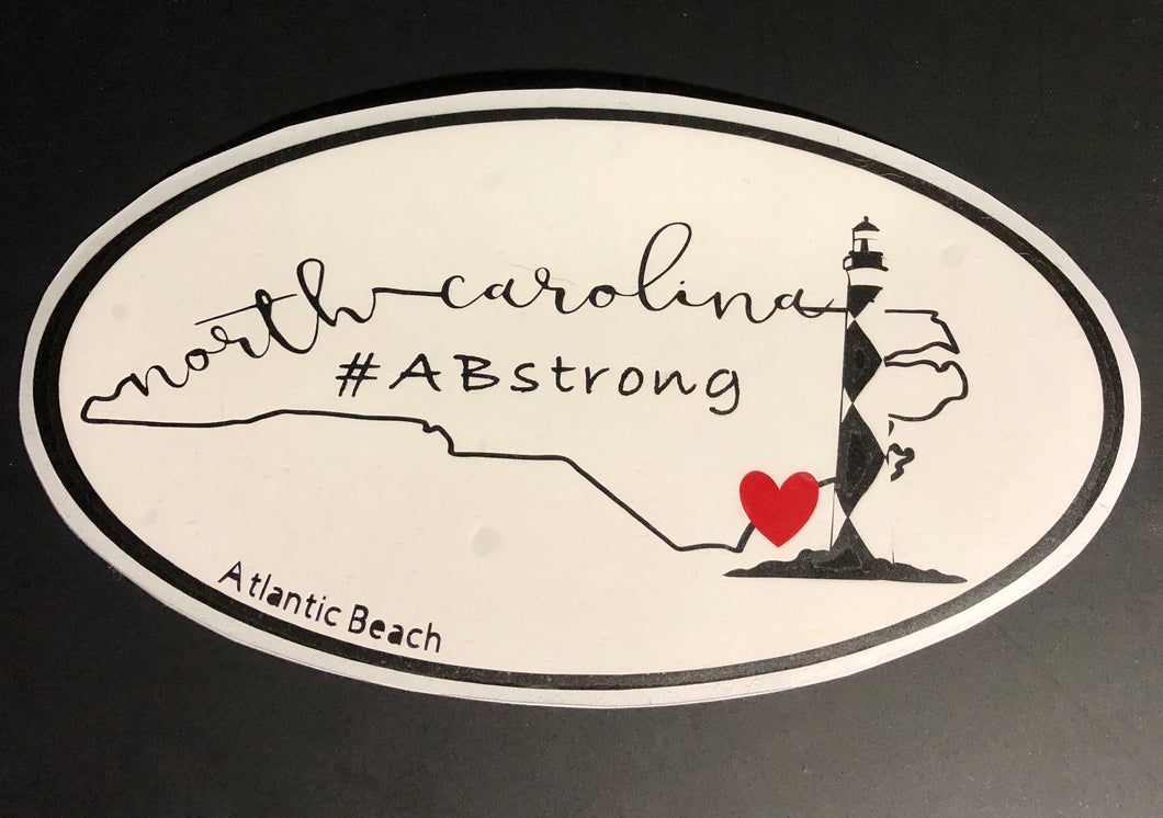 #ABstrong decal - Cape Lookout