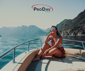ProDav Swivel Dinghy Davit System. Enjoy a day on your yacht with this simple to use lift with your dinghy, jetski, or SeaDoo Spark.