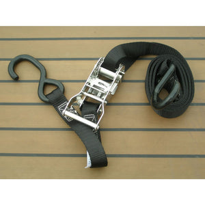 Stainless Steel Ratchet Strap for Dinghy - Pair