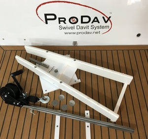 ProDav Swivel Dinghy Davit Lift System