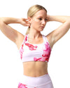 Black Bamboo Padded Sports Bra