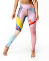 Color Plane Capri Leggings