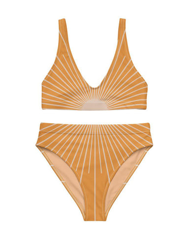 Sunrise High-Waisted Bikini Bottom