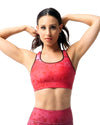 Queen Palm Padded Sports Bra