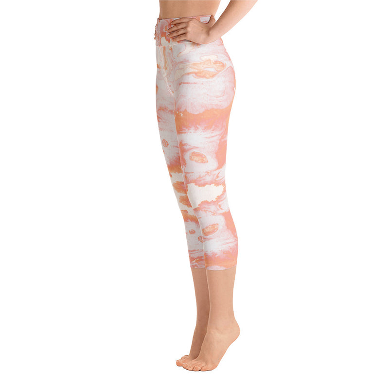 Lava Capri Leggings