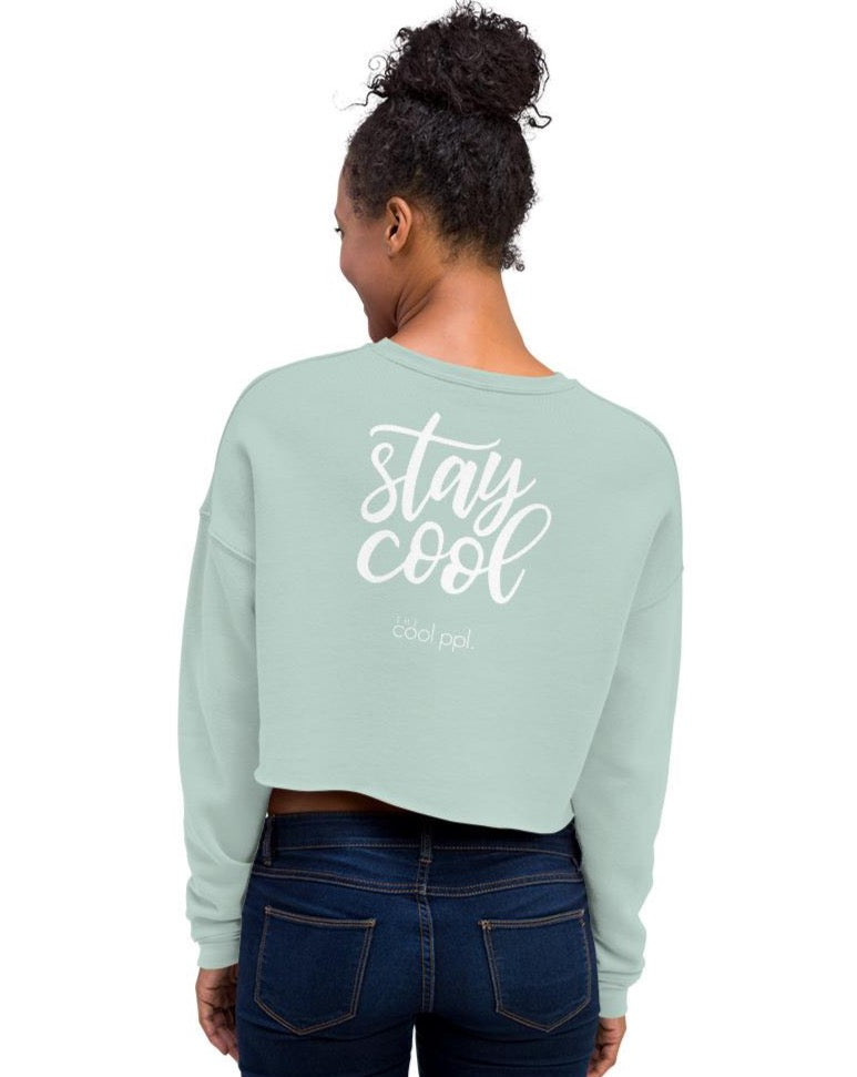 Stay Cool Crop Sweatshirt