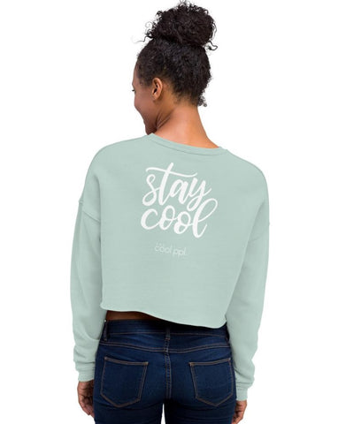 Sunglasses Crop Sweatshirt