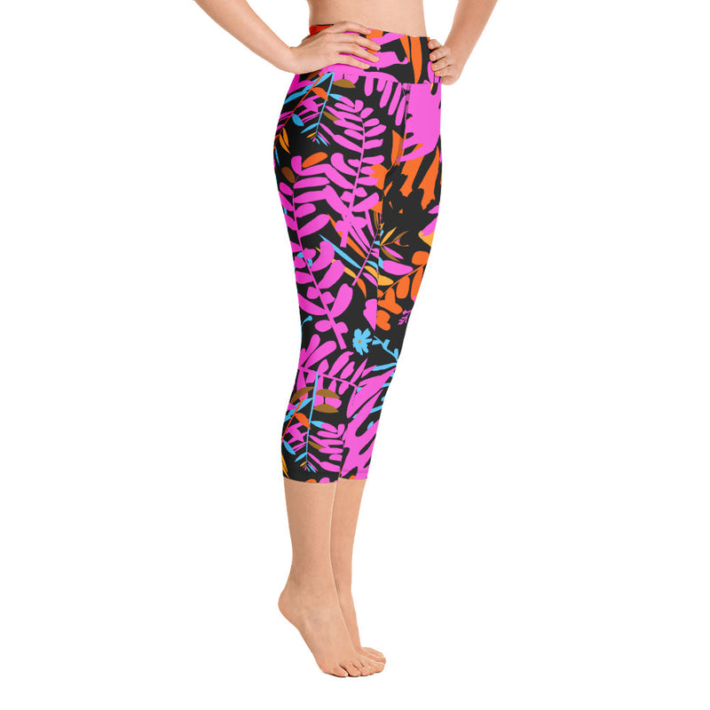 Pink Coconut Capri Leggings