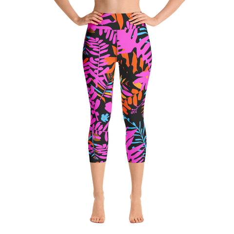Pink Coconut Yoga Leggings