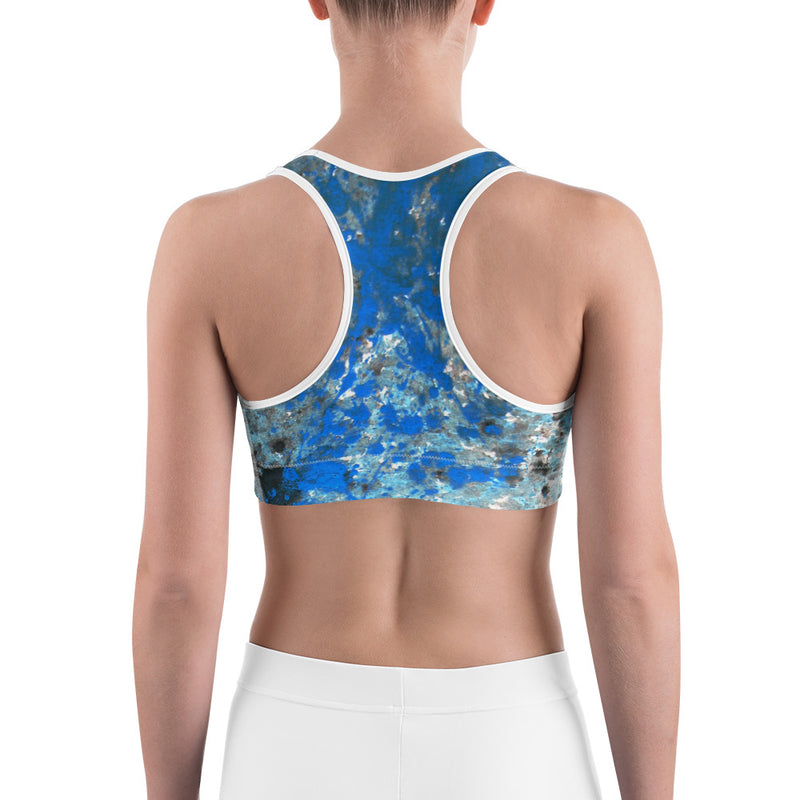Splatter Sports bra