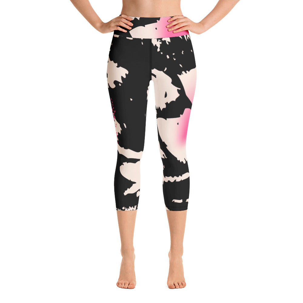 Ruby Spotted Capri Leggings