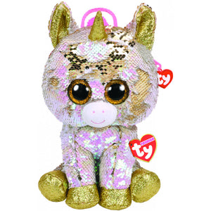 Ty Gear Sequin Backpack: Fantasia the Unicorn