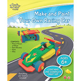 BMS Craft for Kids Make and Paint Your Own Racing Car