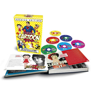 Classic Cartoon Collection Microbook 6 DVD Set