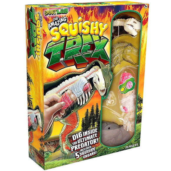 SmartLab Toys The Amazing Squishy T-Rex Dinosaur