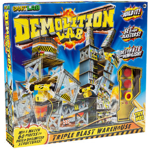 SmartLab Toys Demolition Lab: Triple Blast Warehouse