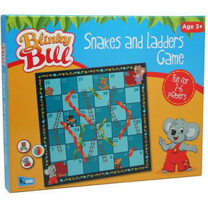 Blinky Bill Snakes and Ladders Game