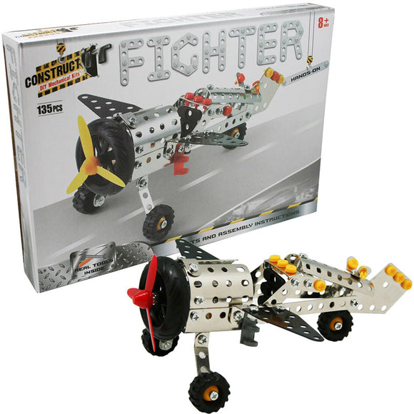 Construct-It DIY Mechanical Kits - Fighter