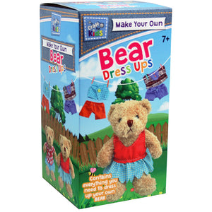 BMS Craft for Kids Make Your Own Bear Dress ups