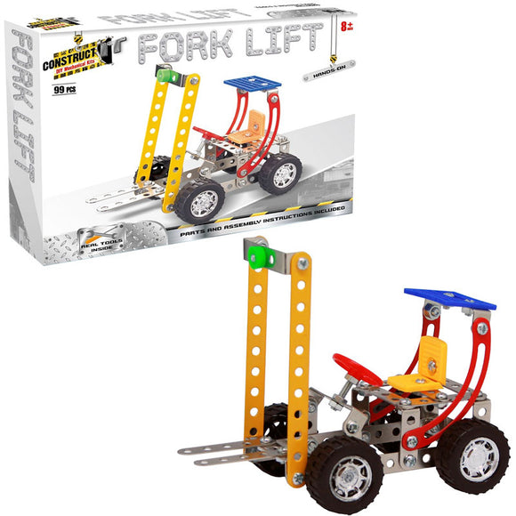 Construct-It DIY Mechanical Kits - Fork Lift