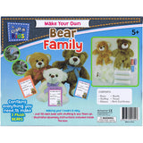 BMS Craft for Kids Make Your Own Bear Family