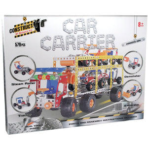 Construct-It DIY Mechanical Kits - Car Carrier
