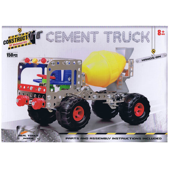 Construct-It DIY Mechanical Kits - Cement Truck