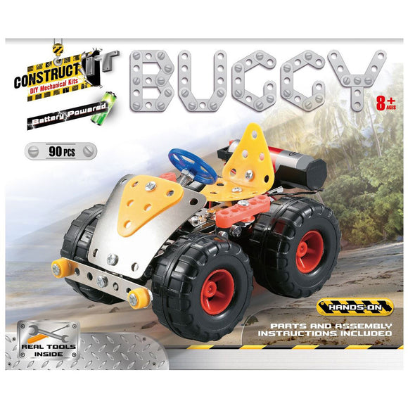 Construct-It DIY Mechanical Kits - Battery Powered Buggy
