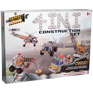 Construct-It DIY Mechanical Kits - 4-in-1 Construction Set
