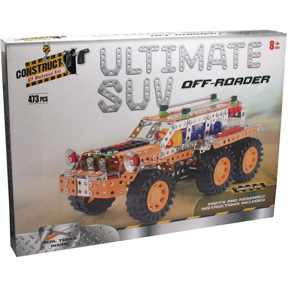 Construct-It DIY Mechanical Kits - Ultimate SUV Off-Roader