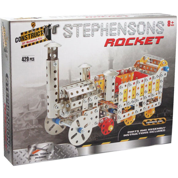 Construct-It DIY Mechanical Kits - Stephensons Rocket