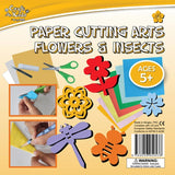 BMS Craft for Kids Paper Cutting Arts Flowers & Insects