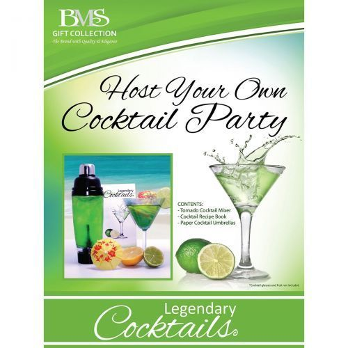 Legendary Cocktails Book and Tornado Blender Gift Set