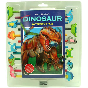 Garry Fleming Dinosaurs Activity Pad