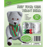BMS Craft for Kids Knit Your Own Teddy Bear